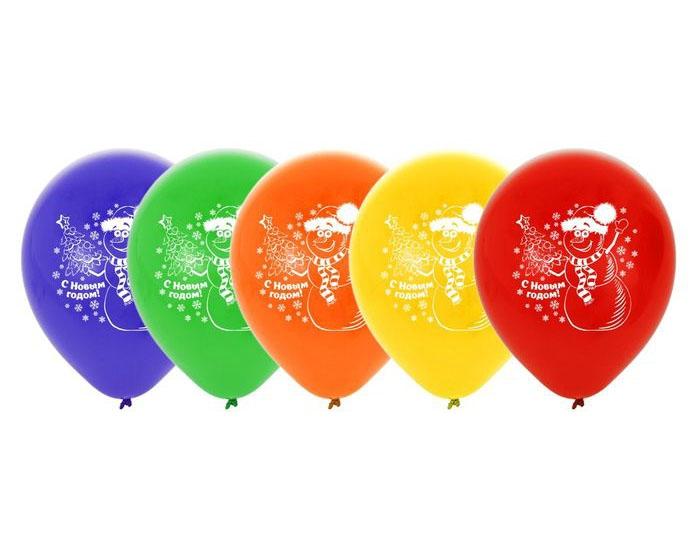 Пять шаров С новым Годом (UNI) - Аксессуары на Новый год