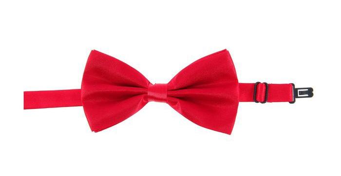 Малиновая галстук бабочка (UNI) -  Аксессуары на карнавал