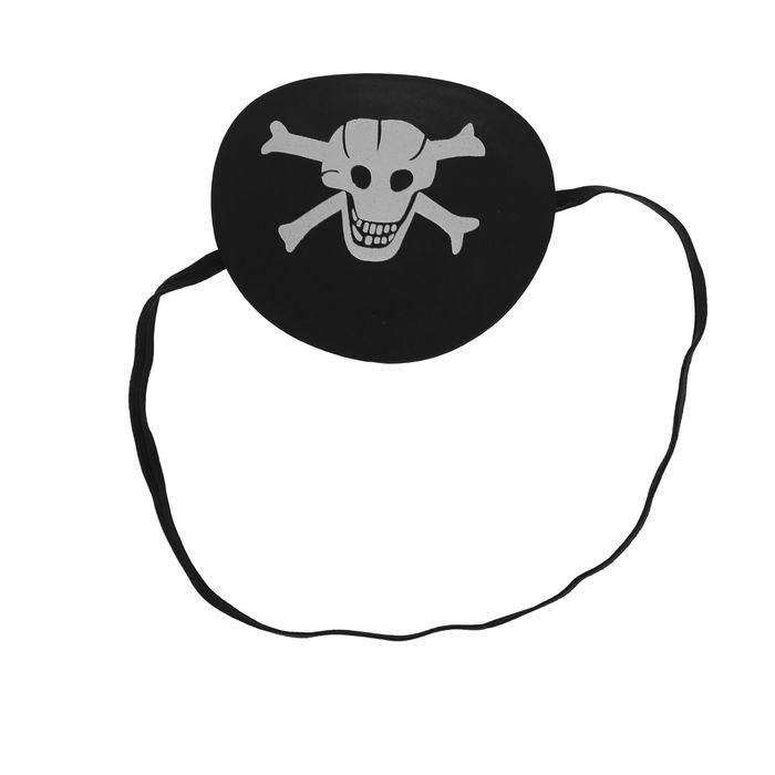 Наглазник с черепом (UNI) -  Пираты и моряки