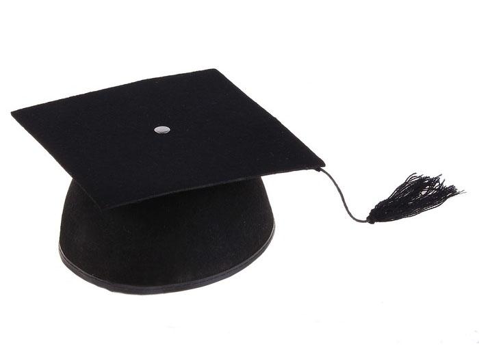 Шапочка Магистра (UNI) - Шляпы карнавальные