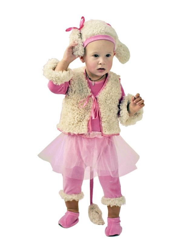 Костюм Малышки Пуделя (24-26) детский костюм малышки золушки 24