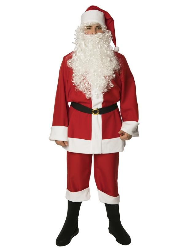 Взрослый костюм Санты (48-50) -  Новогодние костюмы