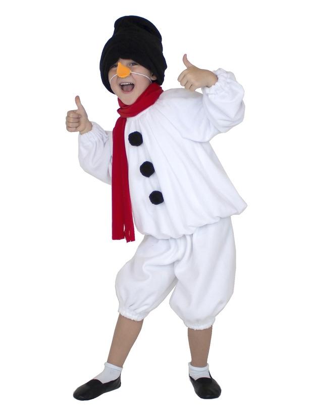 Детский костюм Снеговика (32-34) -  Новогодние костюмы