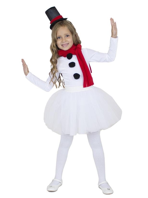 Детский костюм Снеговика Девочки (28) -  Новогодние костюмы