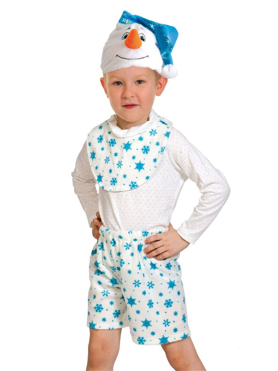 Детский костюм Снеговика Лайт (28-30) -  Новогодние костюмы