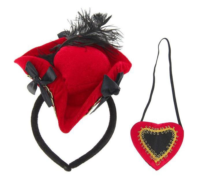 Шляпка и наглазник пиратки (UNI) -  Пираты и моряки