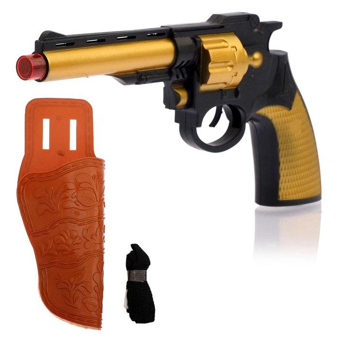 Детский револьвер ковбоя (UNI) сигнальный револьвер блеф наган