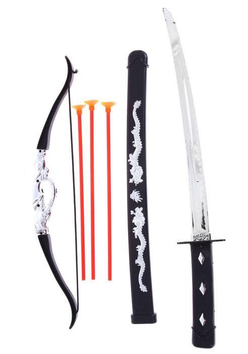 Катана и лук для ниндзя (UNI) -  Бутафорское оружие
