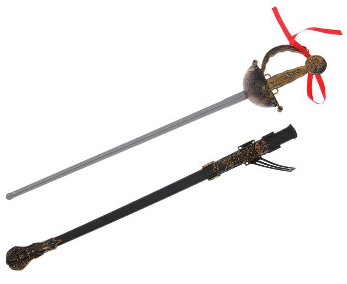Шпага с ножнами Мушкетера (UNI) - Бутафорское оружие