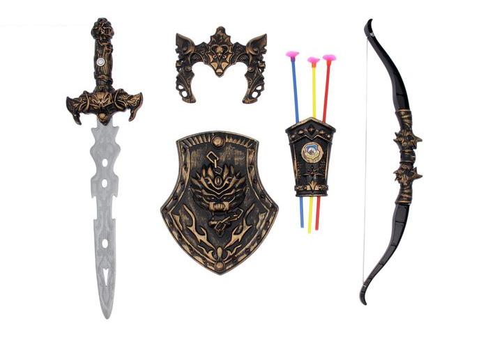 Большой набор оружия для воина (UNI) - Бутафорское оружие