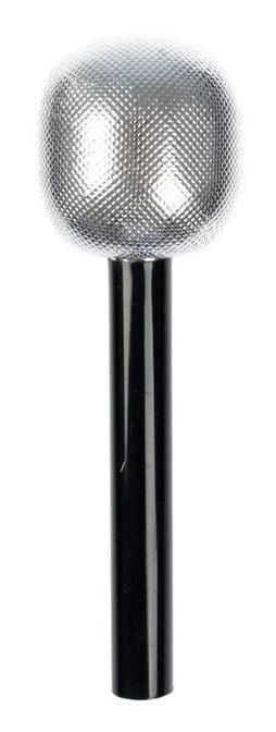 Игрушечный серебряный микрофон (UNI)