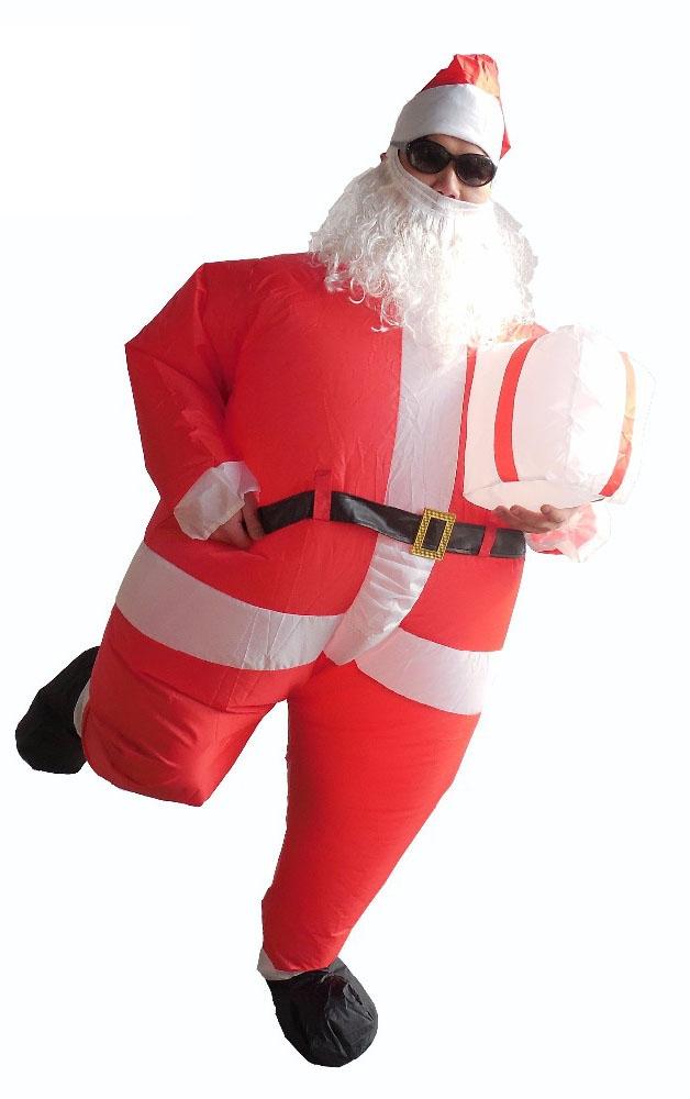 Надувной костюм Санты (46-52) -  Новогодние костюмы