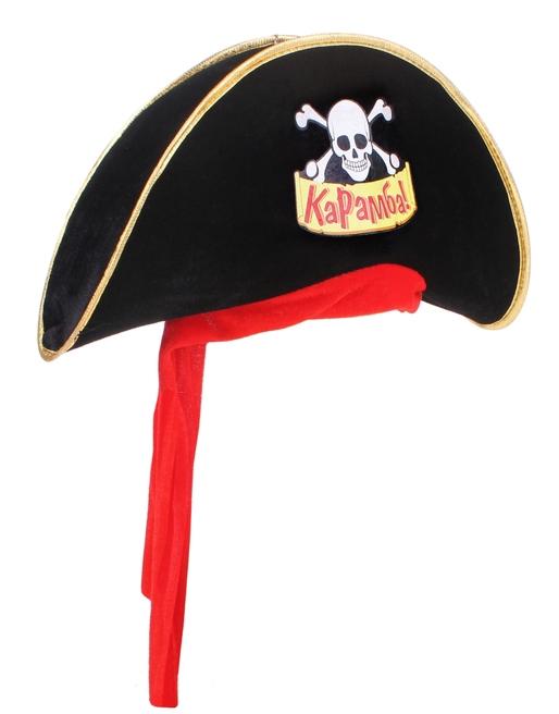 Шляпа пирата Карамба (UNI) -  Пираты и моряки