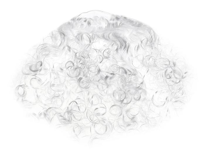 Борода Деда Мороза 33 см (UNI) - Аксессуары на Новый год
