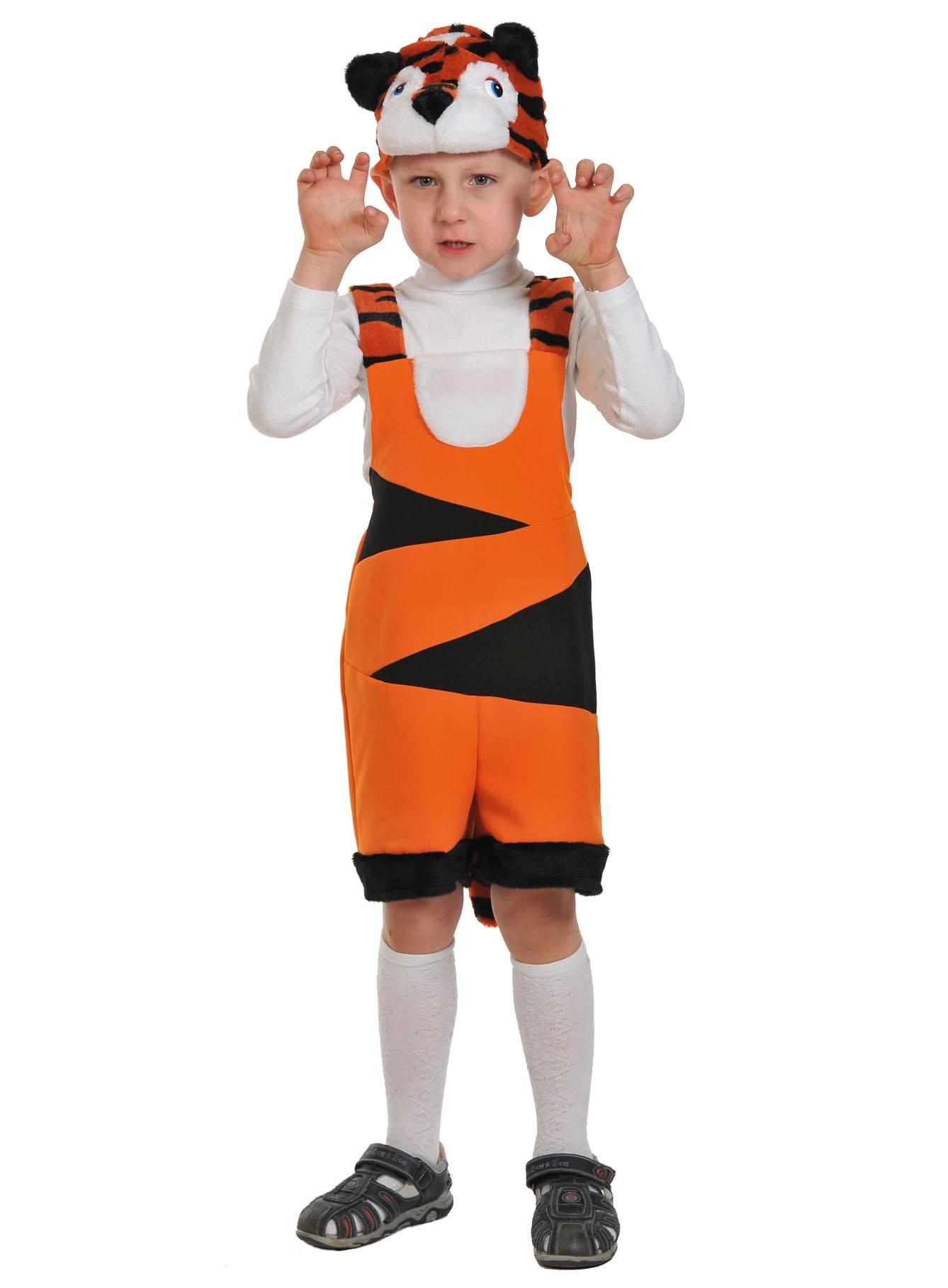 Детский костюм Тигренка (26-32) костюм маленькой снежинки 32