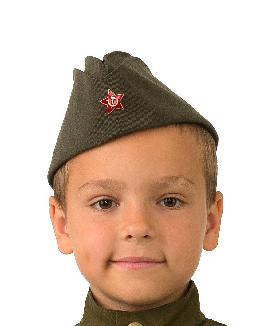 Детская пилотка солдата (UNI) подвиг солдата