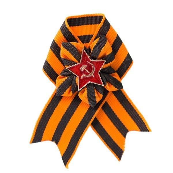 Брошь Георгиевский бант (UNI) -  Униформа