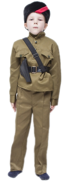 Детский костюм Партизана (32-34) -  Униформа