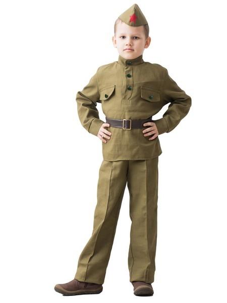 Детский костюм Храброго Солдата (36-38)
