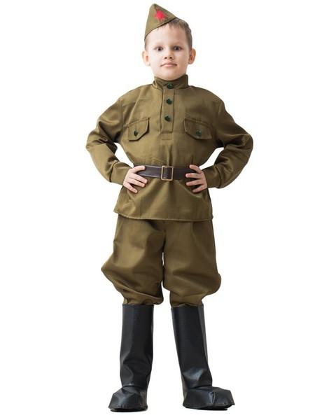 Детский костюм Солдата в галифе (36-38) -  Униформа
