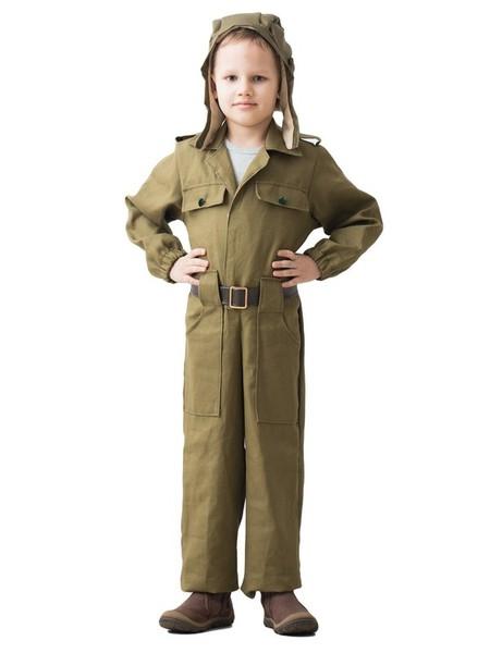 Детский костюм Юного Танкиста (32-34)