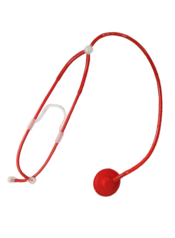 Красный стетоскоп (UNI) -  Медсестры