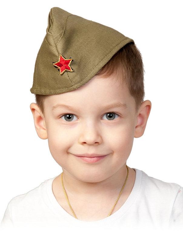 Детская пилотка со звездой (53-55) -  Униформа