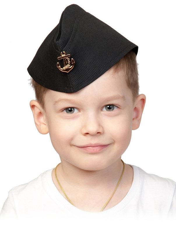 Черная пилотка ВМФ (UNI) -  Униформа
