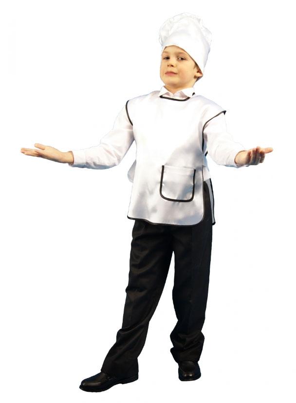 Детский набор Повара в колпаке (30) детский костюм маленького повара 22 24