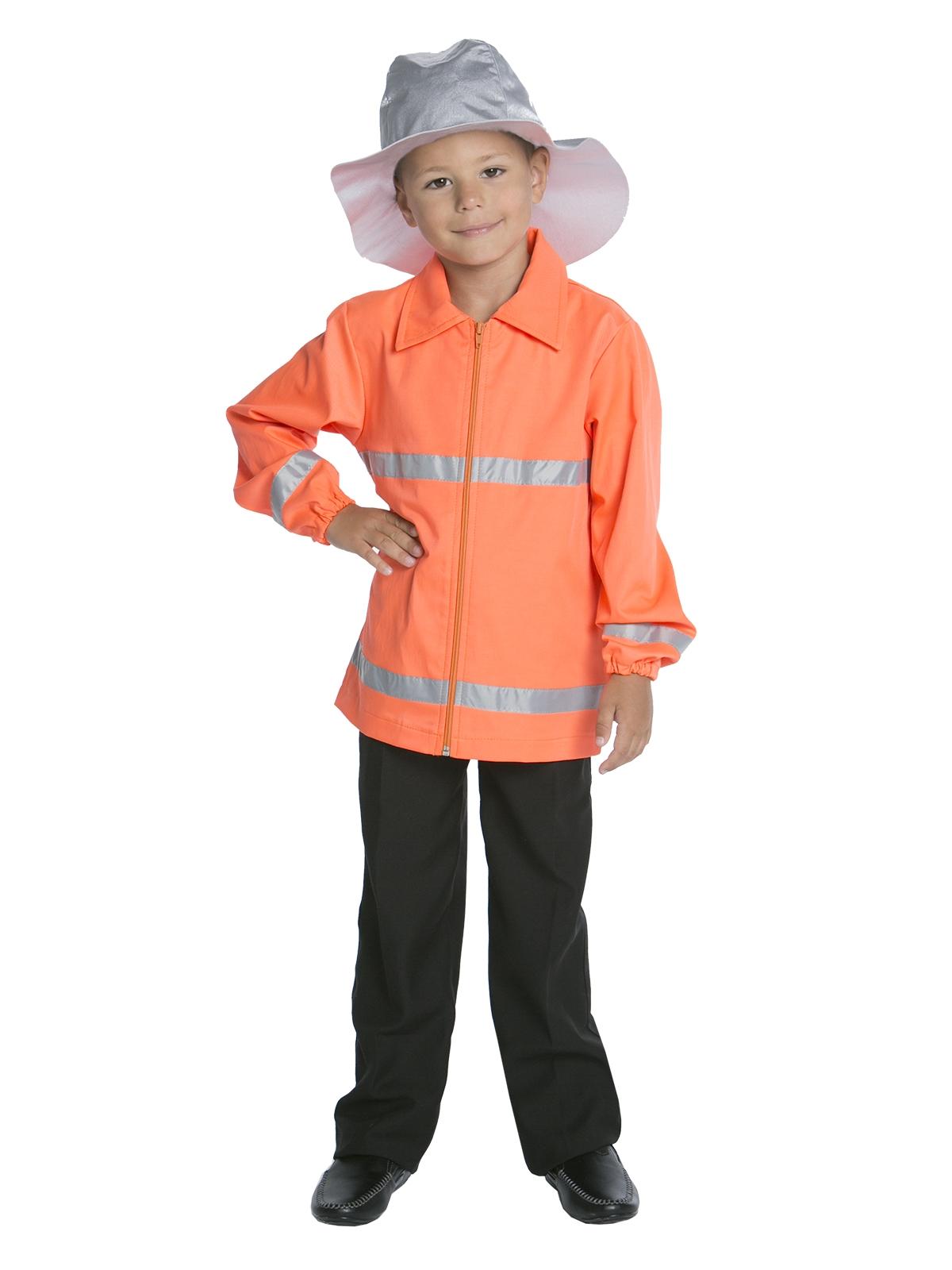 Детский Костюм Пожарного в шлеме (32-34) -  Униформа