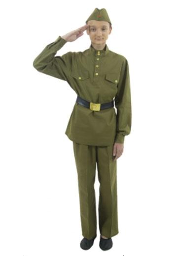 Подростковый костюм военного (38-40) -  Униформа