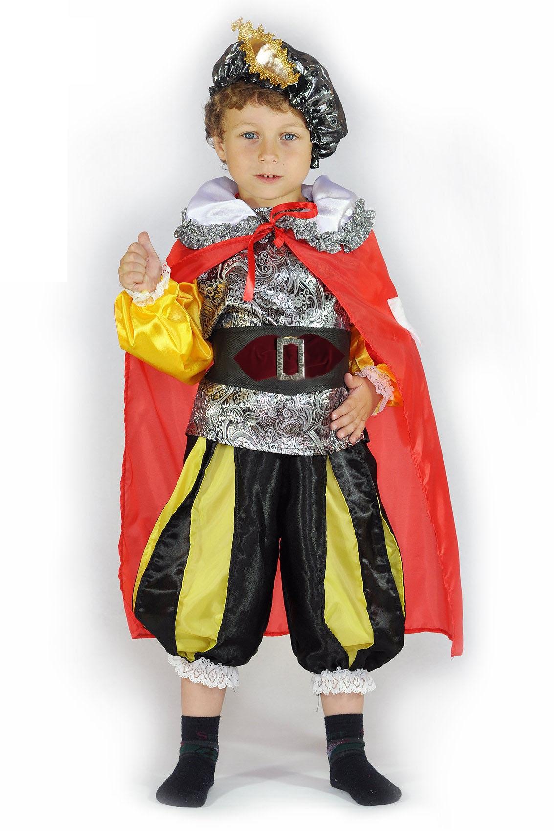 Детский костюм принца (30) детский костюм сказочного клоуна 30