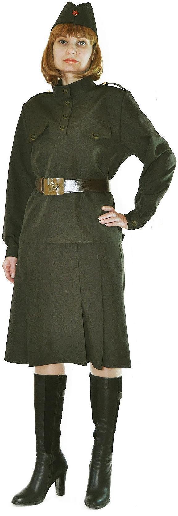 Военный костюм женский (40-42) -  Униформа