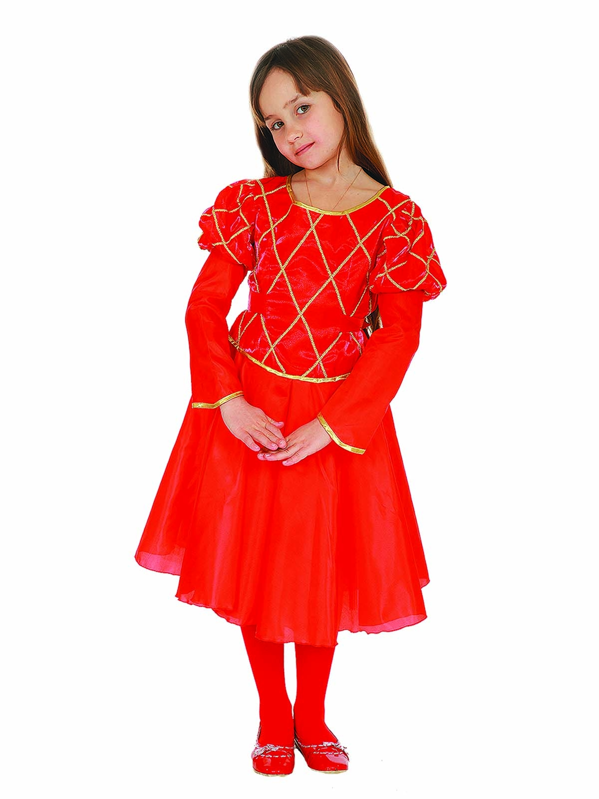 Детский костюм Красной Принцессы (30) детский костюм супермен 30