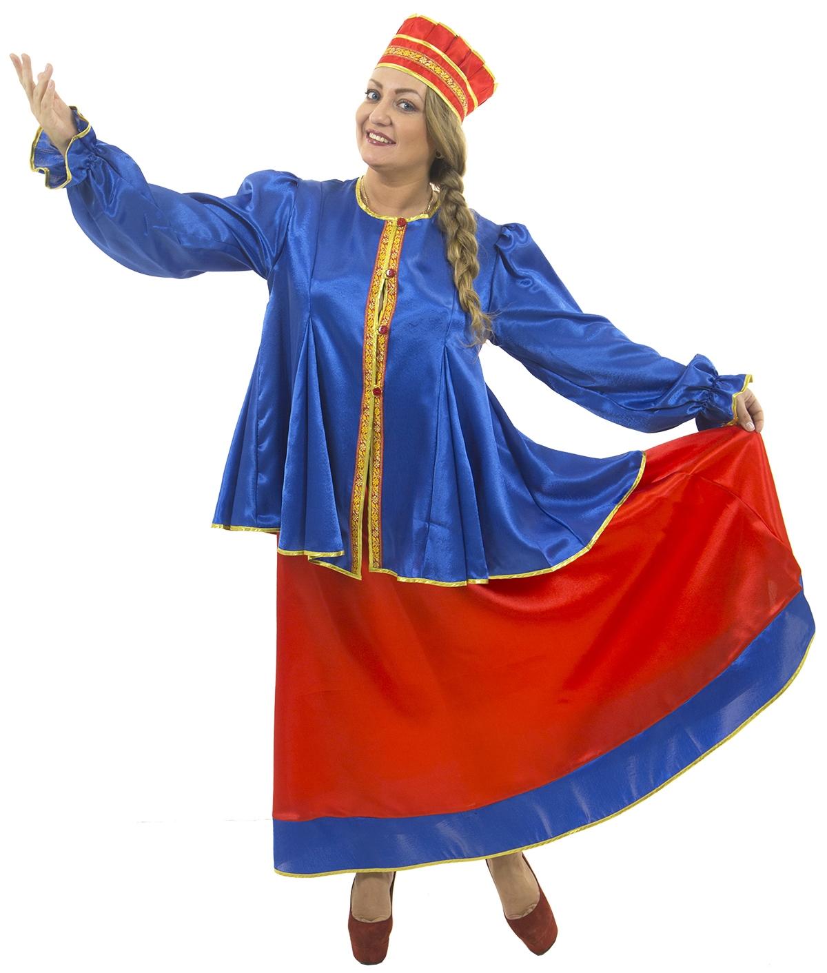Взрослый костюм Масленицы (44-46) -  Национальные костюмы