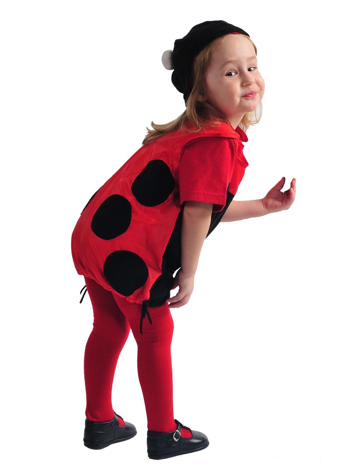 Детский костюм Красной Божьей Коровки (24-26) -  Животные и зверушки