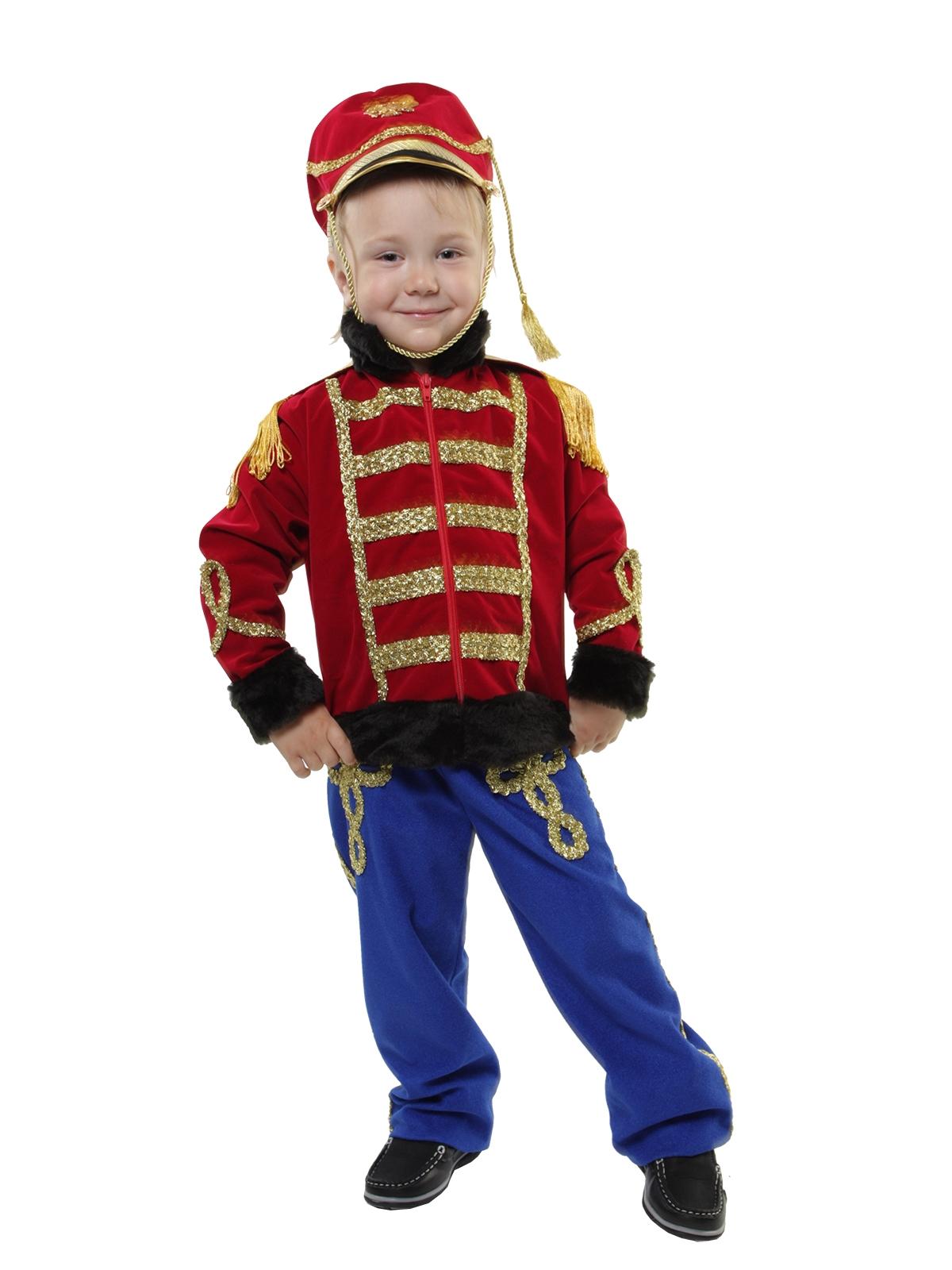 Детский костюм Гусара Люкс (32-34) -  Исторические костюмы