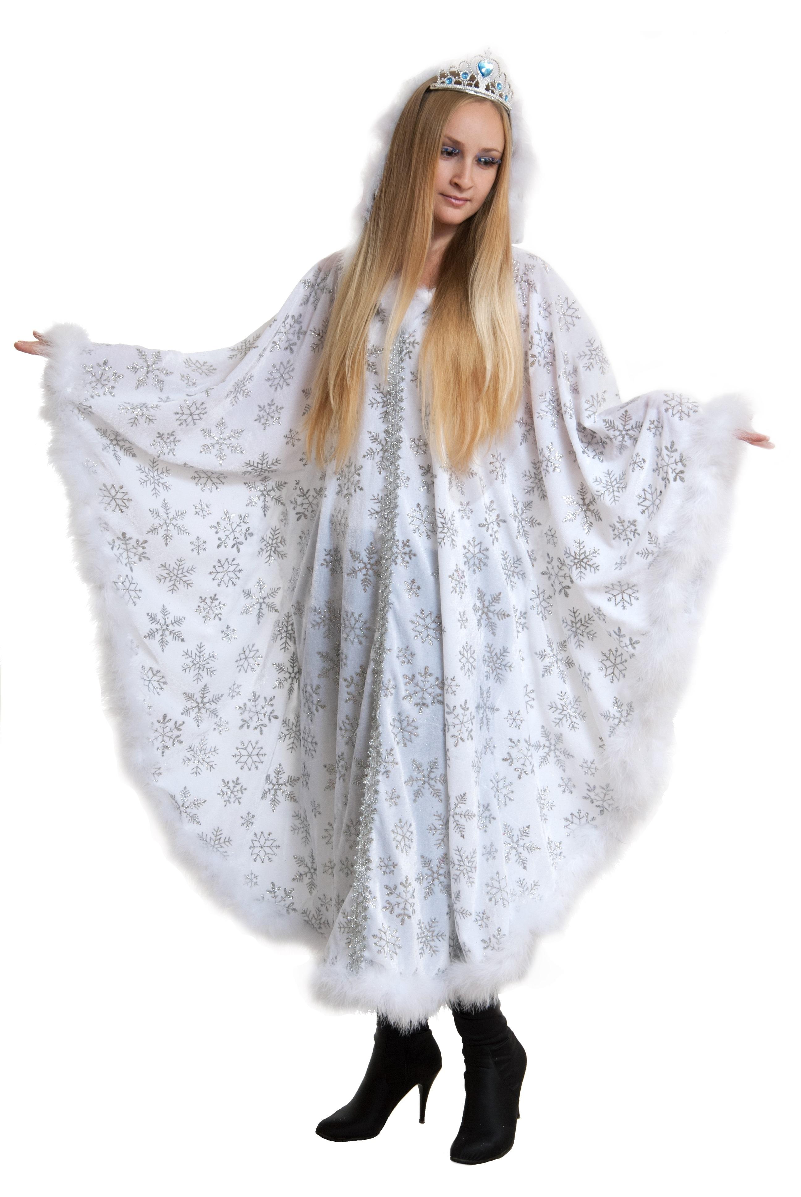 Костюм Зимушки (50-54) -  Новогодние костюмы