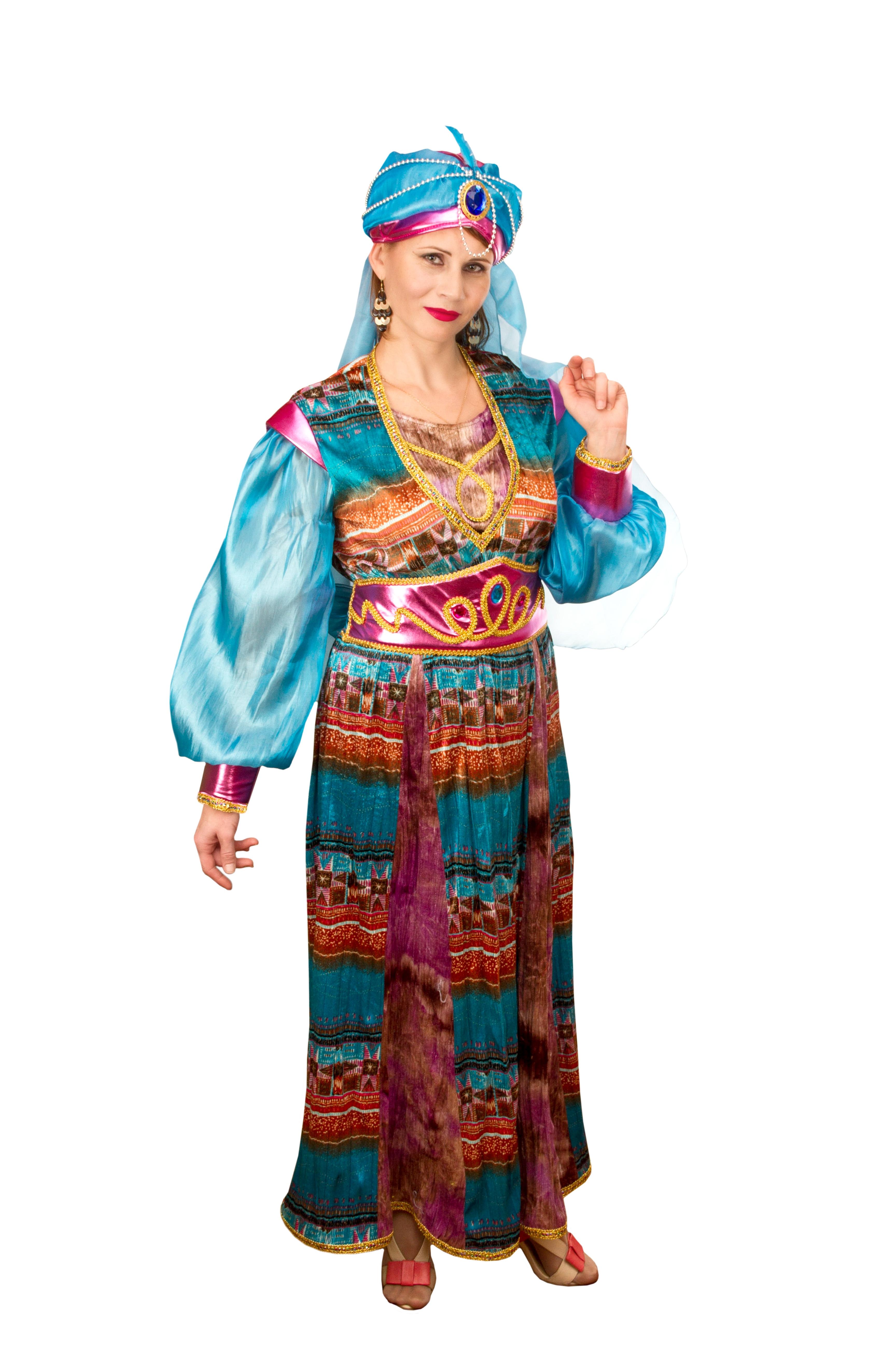Взрослый костюм Восточной Принцессы (42-48) -  Сказочные герои