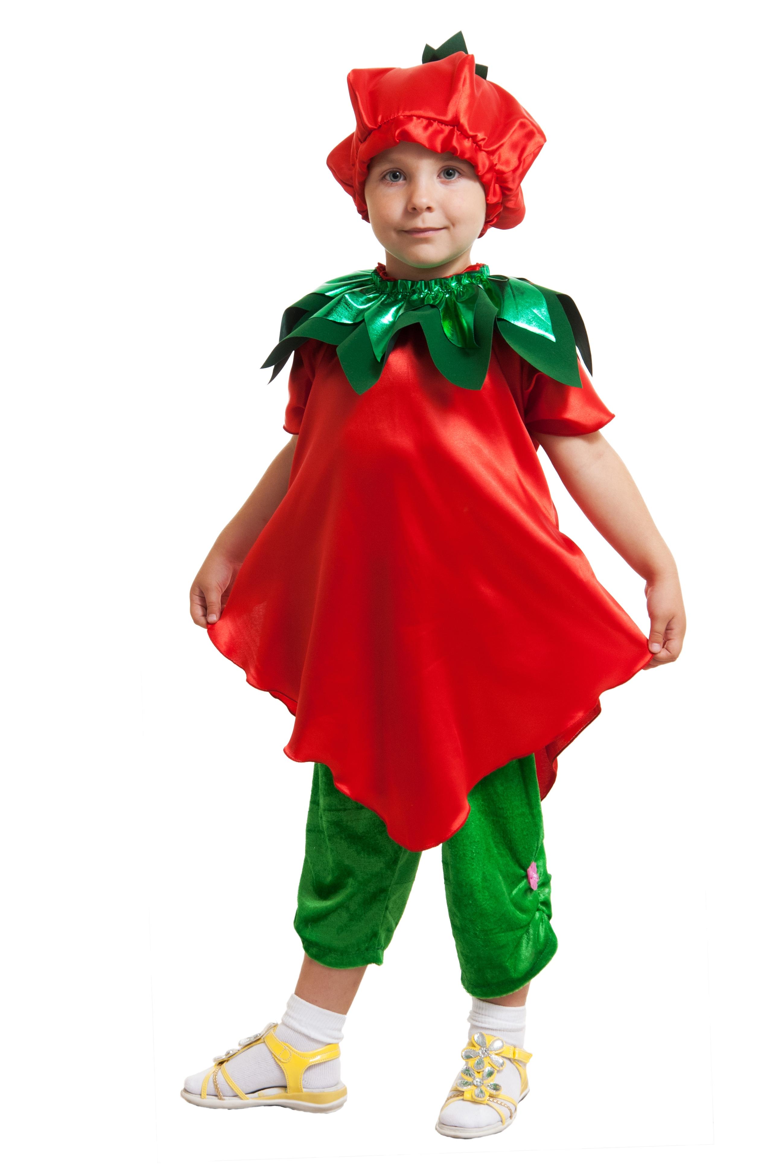Детский костюм Земляники (28-36) детский костюм озорного клоуна 34