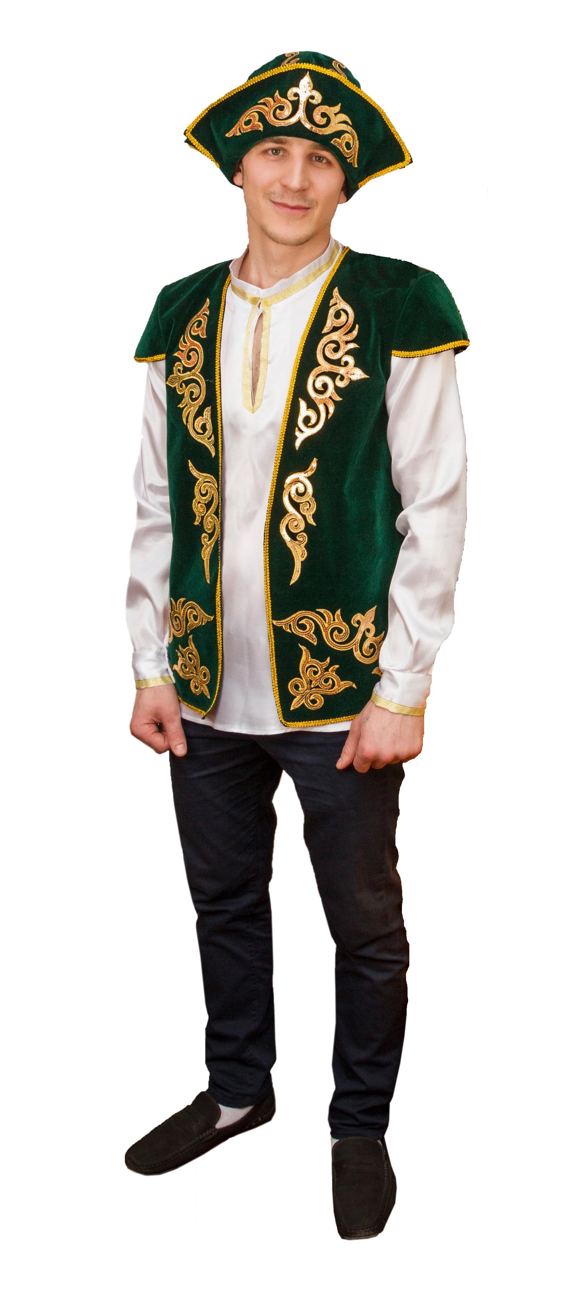 Взрослый костюм Казаха (42) парные костюмы вина и сыра 42 48