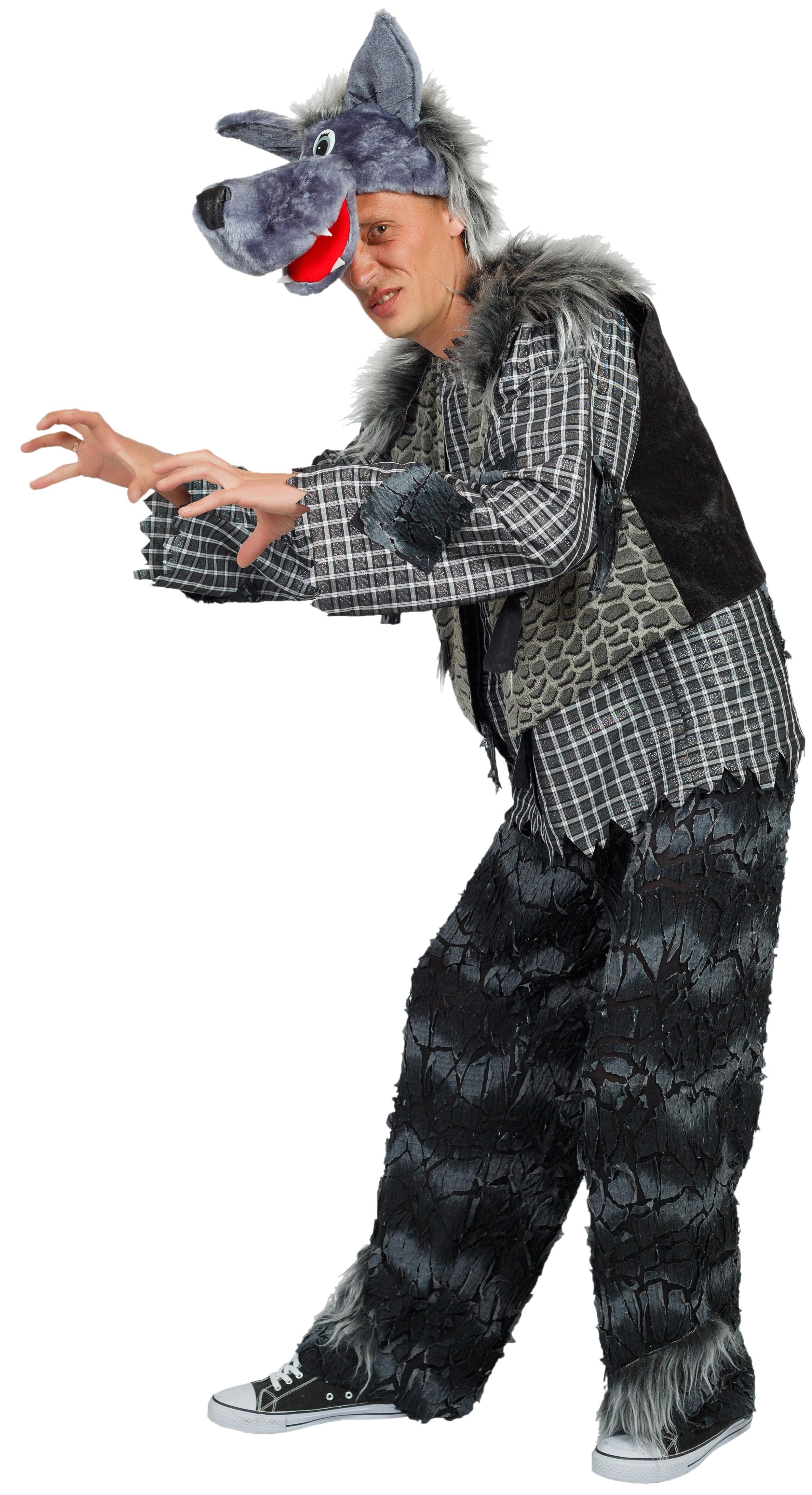 Костюм Волка Хулигана (52) -  Животные и зверушки