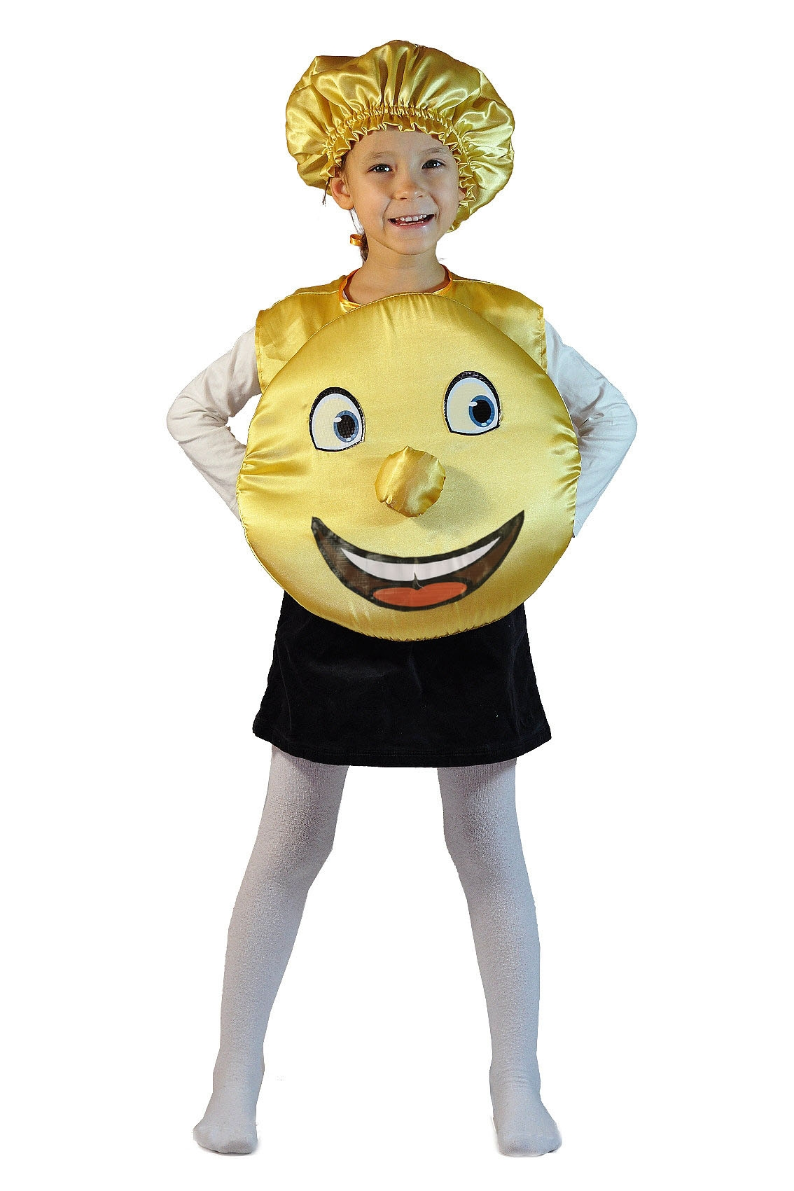 Детский костюм Румяного Колобка (26-34) -  Русские народные сказки