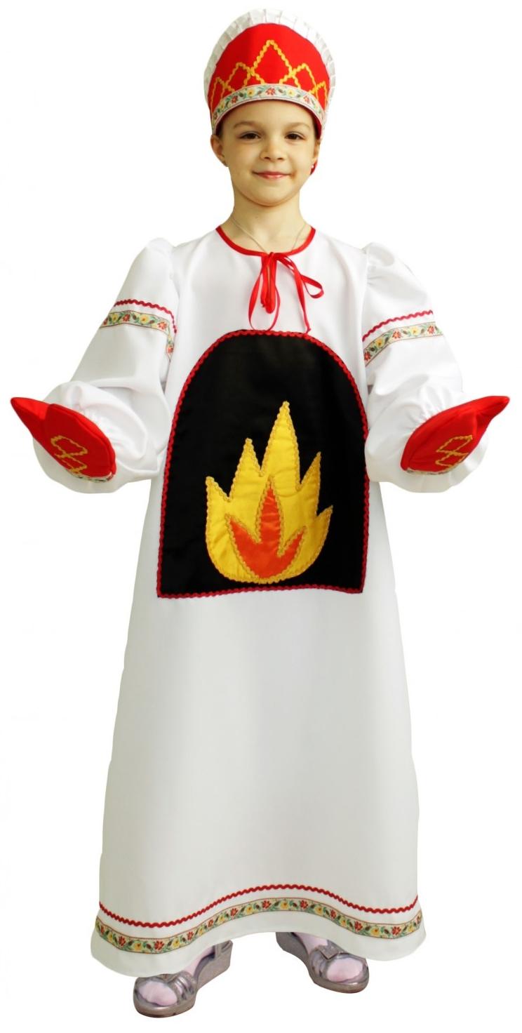 Детский костюм Русской Печки (32-34) -  Русские народные сказки