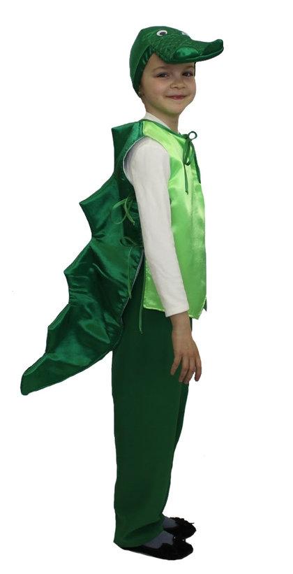 Детский костюм Крокодила (28-32) -  Животные и зверушки