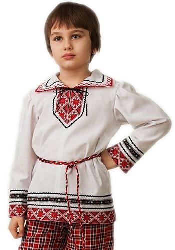 Рубашка вышиванка для мальчика (40) -  Национальные костюмы