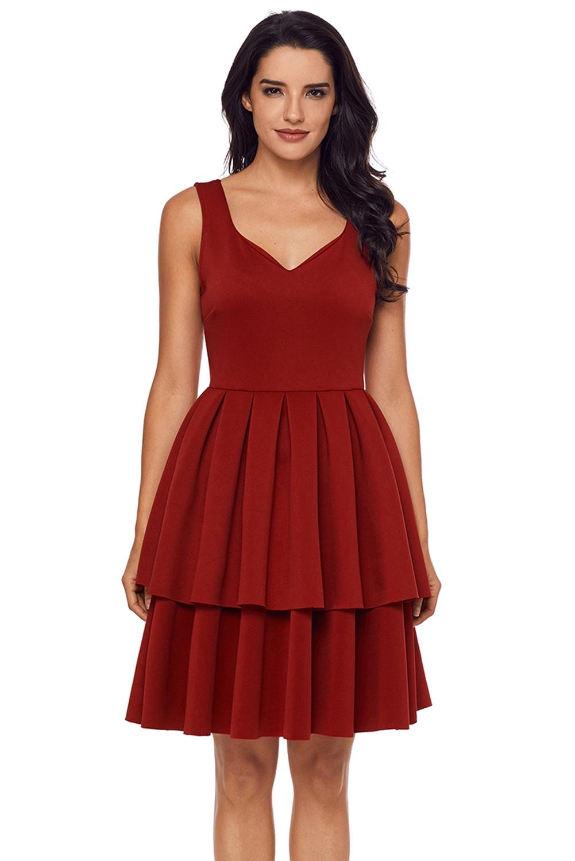 64a07423aad6d7f Красное платье с широкой юбкой - купить на Vkostume.Ru, описание ...