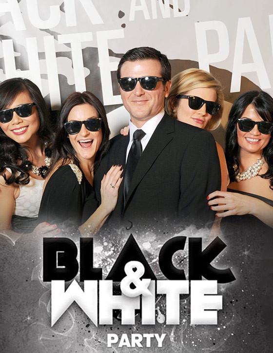Черно-белая вечеринка