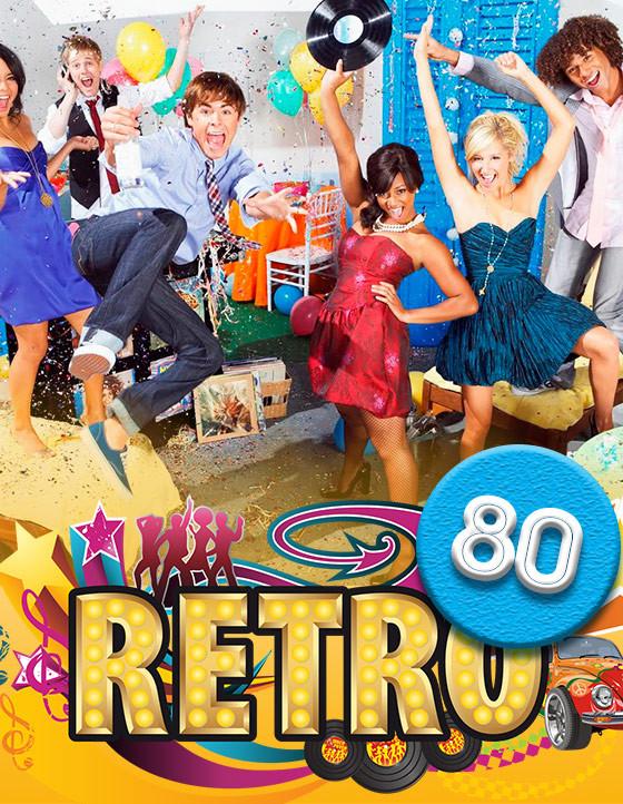 Вечеринка в стиле 80-х